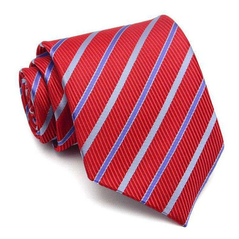 2 (5)  AWAYTR New Design Males Tie 8cm Striped Traditional Enterprise Neck Tie For Males Swimsuit For Wedding ceremony Occasion Necktie HTB1Chi5RVXXXXXPXFXXq6xXFXXXx