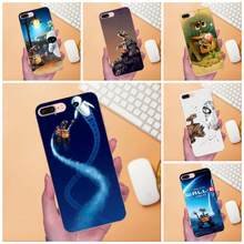 For Apple iPhone 4 4S 5 5C 5S SE 6 6S 7 8 Plus X XS Max XR Soft Coque Case Wall.e Rubber(China)