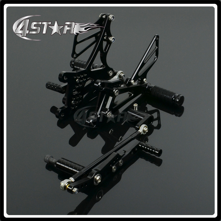 все цены на Motorcycle CNC Adjustable Foot Pegs Pedals Rests For YAMAHA YZF-R1 R1 2007-2008 2007 2008 07 08 онлайн