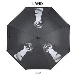 Image 4 - Fonaseti Long Handle Umbrella Men Gift Clear Golf Umbrella Parasol Rain Umbrella Female Women Betty Boop Decoration Umbrella