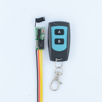 RF Remote Control Switch System Mini Small Volume DC3 5V Receiver 315 433MHZ Waterproof Transmitter