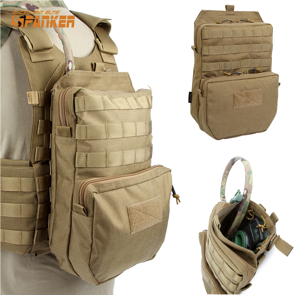 SPANKER 3L Tactical Molle Hiking Hydration Pack Outdoor First Aid JPC Vest Water Bag Military Assault Backpack 1000D Waterproof emersongear lbt2649b hydration carrier for 1961ar molle backpack military tactical bags hunting bag multicam tropic arid black