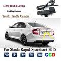 Auto Rückansicht Kamera Für Skoda Schnelle Spaceback 2015 Statt der Ursprünglichen Fabrik Stamm Griff Kamera/Rückfahr kamera-in Fahrzeugkamera aus Kraftfahrzeuge und Motorräder bei