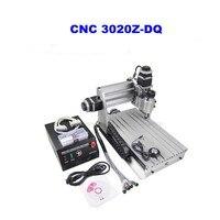 3 축 3020Z-DQ CNC 라우터 조각기 CNC 3020 볼 스크류 + 20x3.175mm 1/8