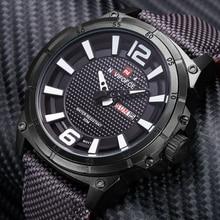 Watches Men NAVIFORCE Luxury Brand Military Sport Quartz Watches Fashion Casual Auto Date Week 3ATM Nylon Waterproof Wrist watch