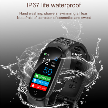 MNWT Brand Smart Sport Watch For iOS Android Pedometer Heart Rate Monitor Blood Oxygen Fitness Tracker Smart Wristband Watches 1