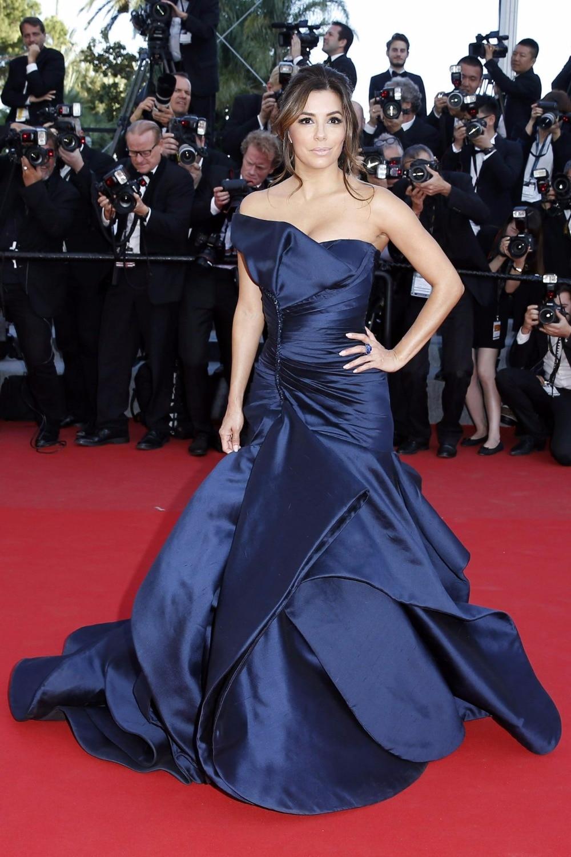 Navy Blue Celebrity Dresses - Cheap Wedding Dresses ...