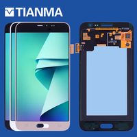 Tested 5 0 AMOLED LCD For SAMSUNG Galaxy J3 2016 LCD Display Touch Screen Digitizer Assembly