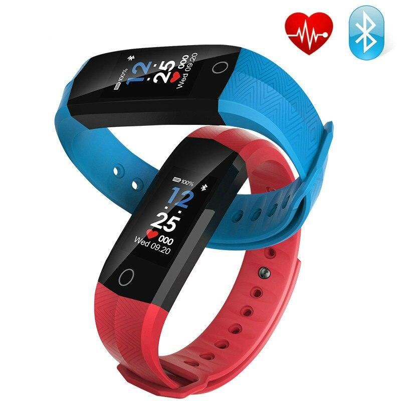 2018 NOUVELLE montre Smart watch Sport bracelet CD02 coeur taux Santé Moniteur podomètre étanche smartwatch pour IOS Android relogio