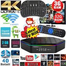 T95Z плюс 2 г 16 г 3 г 32 г Android 6.0 TV Box Amlogic S912 Восьмиядерный Двойной Wi-Fi 1000 м LAN Smart TV Box 3D 4 К медиаплеера PK X96