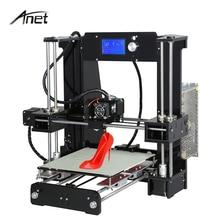 Анет большой Размеры A6 arcylic 3D принтер 220*220*250 мм трехмерная RepRap Prusa i3 DIY 3D принтера Комплект с нить SD Card
