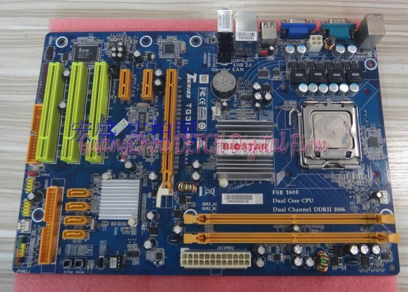 TG31-A7 supports DDR2 775 -pin integrated large plate G31 Motherboard