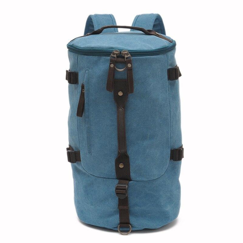 Grande capacité multifonction unisexe sac de voyage alpinisme sac à dos hommes sacs toile seau sac à bandoulière sac de voyage pour hommes