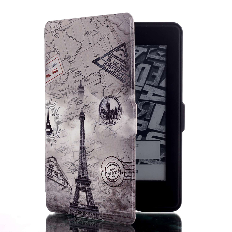 Luxury Print Protective Cover Case for Amazon Kindle Paperwhite 1 2 3 Generation 6