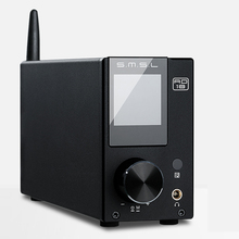 SMSL AD18 80 واط * 2 CSR A64215 DSP HIFI بلوتوث مضخم الصوت الرقمي النقي البصرية/محوري USB DAC فك مع جهاز التحكم عن بعد