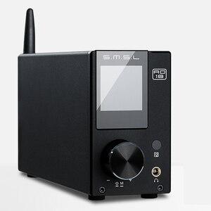 Image 1 - SMSL AD18 80 واط * 2 CSR A64215 DSP HIFI بلوتوث مضخم الصوت الرقمي النقي البصرية/محوري USB DAC فك مع جهاز التحكم عن بعد