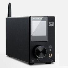 SMSL AD18 80W * 2 MVO A64215 DSP HIFI Bluetooth Pure Digitale Audio Versterker Optische/Coaxiale USB DAC decoder Met Afstandsbediening