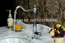 Однорычажный бассейна кухонной мойки смесители кран бронзовый цвет туалет высокий класс латунь медь ванной отеля классический
