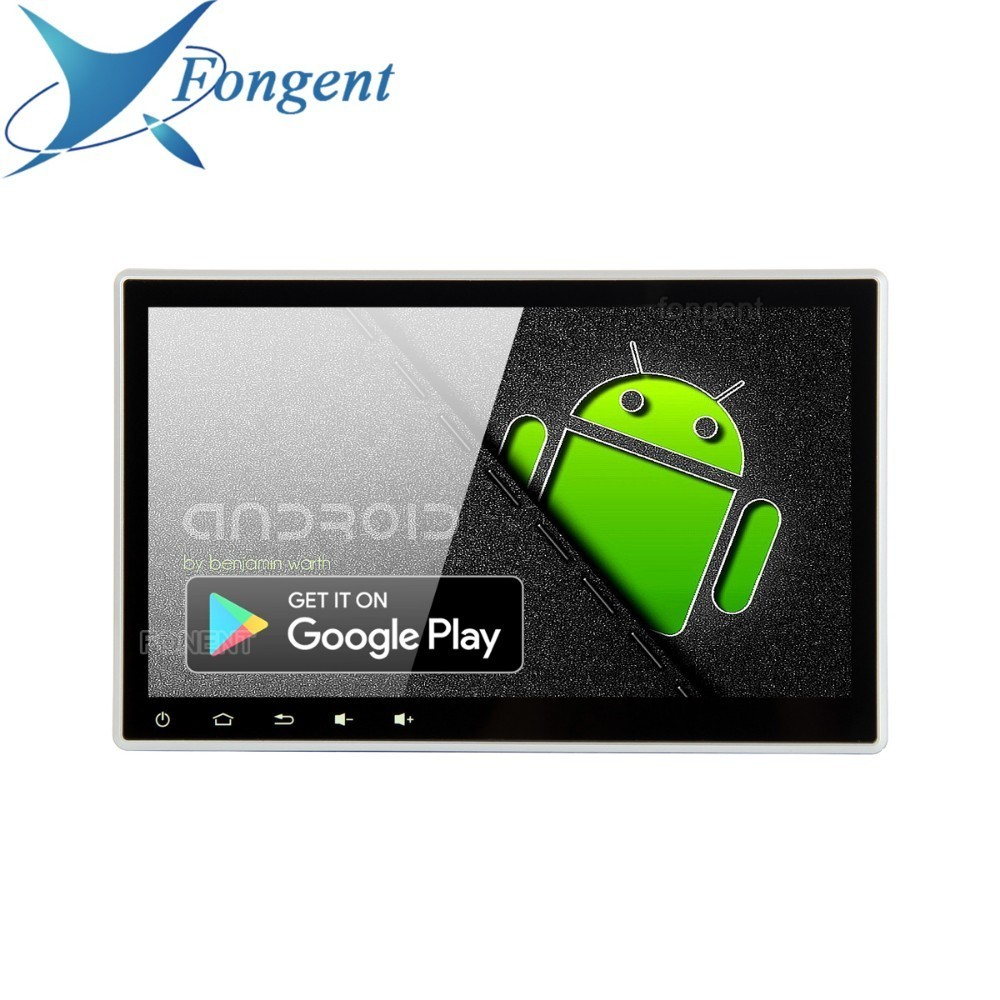 10,2 Android 9,0 Car GPS reproductor de Radio por 2 Doble Din 1 Din Universal 4 GB + 64 GB Auto Multimedia estéreo UNIDAD DE PX6 DVD PC