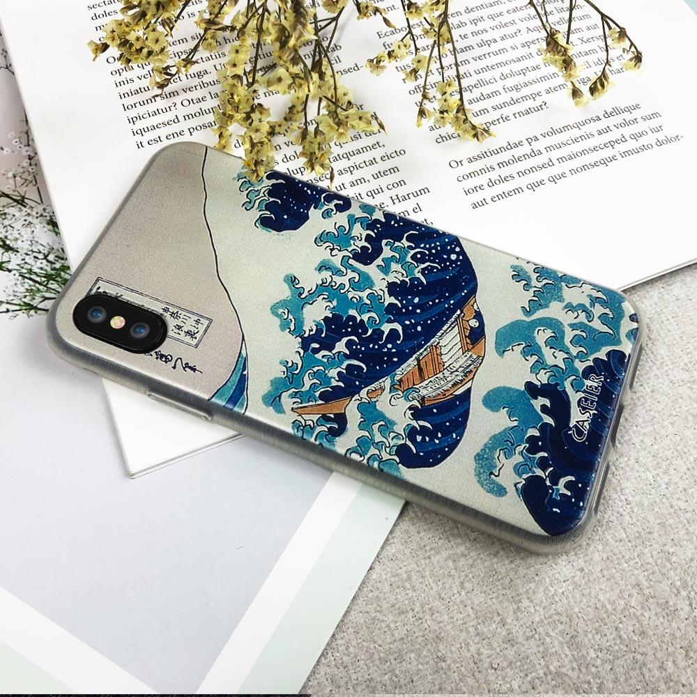 CASEIER Vintage Painting Phone Case for iPhone 6 6s Case Soft Soft - Բջջային հեռախոսի պարագաներ և պահեստամասեր - Լուսանկար 5