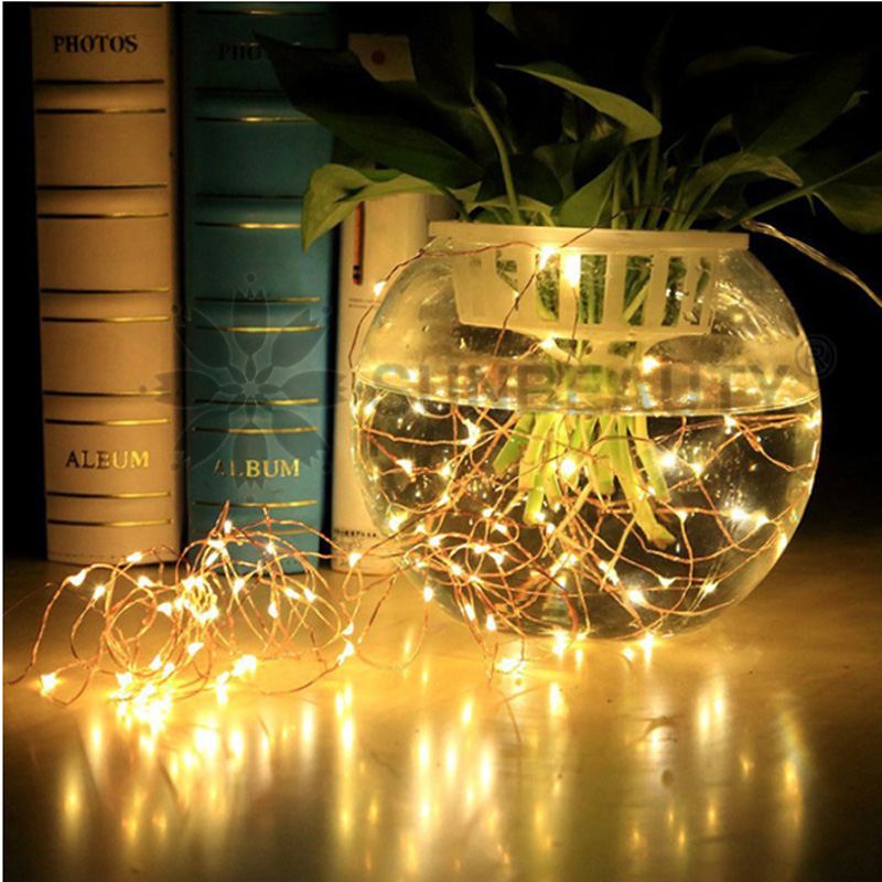 1M 2M 5M 10M 21M Copper Wire LED String Lamp Fairy Lights Night Light For Christmas Garland New Year Xmas Wedding Decoration