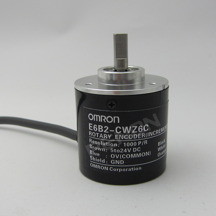 OMRON encoder 1000P/R E6B2-CWZ6C pulse photoelectric incremental rotary encoder dc 5 24v electronic 2000p r resolution rotary encoder e6b2 cwz6c 2000p r