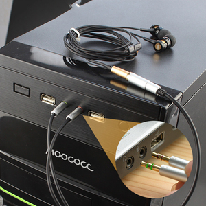 Image 5 - 3.5mm Headphone Stereo Audio Mic Y Splitter,3.5 mm Audio + Microphone to 4 Pole Jack Aux Adapter for 4 pin 3.5mm Plug Earphone
