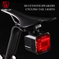 Wheel Up Sound Bluetooth Light For Battery LED Flashlight USB Rechargeable 2200mAH MTB Mountain Bike Light