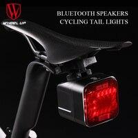 Wheel Up Sound Bluetooth Light For Battery LED Flashlight USB Rechargeable 2200mAH MTB Mountain Bike Light
