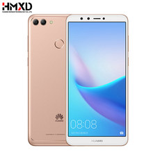 Global Rom Huawei Y9 2018 Enjoy 8 Plus 4GB 64GB 5.93 inch 2160*1080P Octa core 4 Cameras 4000mAh Fingerprint ID Face ID 3 Slot(China)