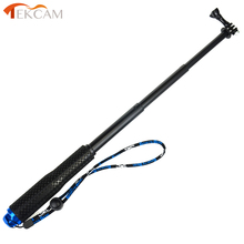 Tekcam for sjcam m10 accessories Waterproof Selfie Stick Monopod for SJ4000 SJ5000 M10 M20 sj6 legend for Eken H9r H9 H8 H8 цены онлайн