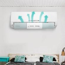 ปรับ Air Conditioner ฝาครอบกระจกเครื่องปรับอากาศ Baffle Shield ลมท่องเที่ยวเดือนตรง Anti   wind Shield 2019