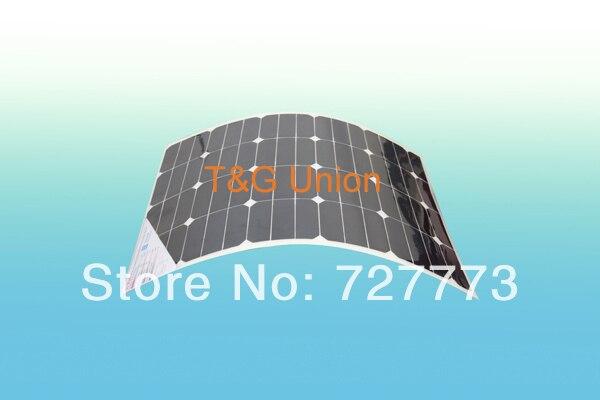 60W Flexible Solar Panel with Sunpower solar cells