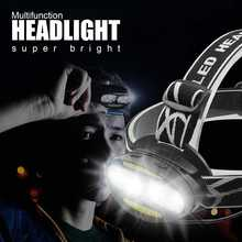 цена на VastFire 7 mode USB Multifunction 8 light headlamp T6 COB Red LED Head Lamp COB Flashlight