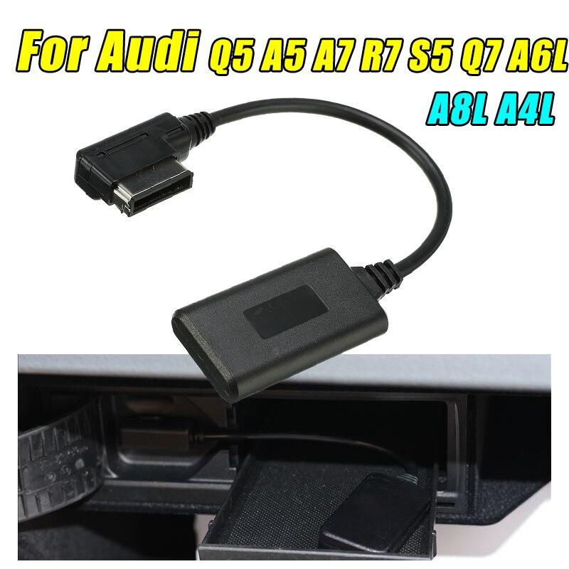 AMI MMI Bluetooth AUX adaptateur de câble récepteur Audio sans fil entrée Radio pour Audi Q5 A5 A7 S5 Q7 A4 A6 A8 2010 +
