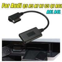 AMI MMI Bluetooth AUX Empfänger Kabel Adapter Wireless Audio Media Eingang Radio Für Audi Q5 A5 A7 S5 Q7 A4 a6 A8 2010 +