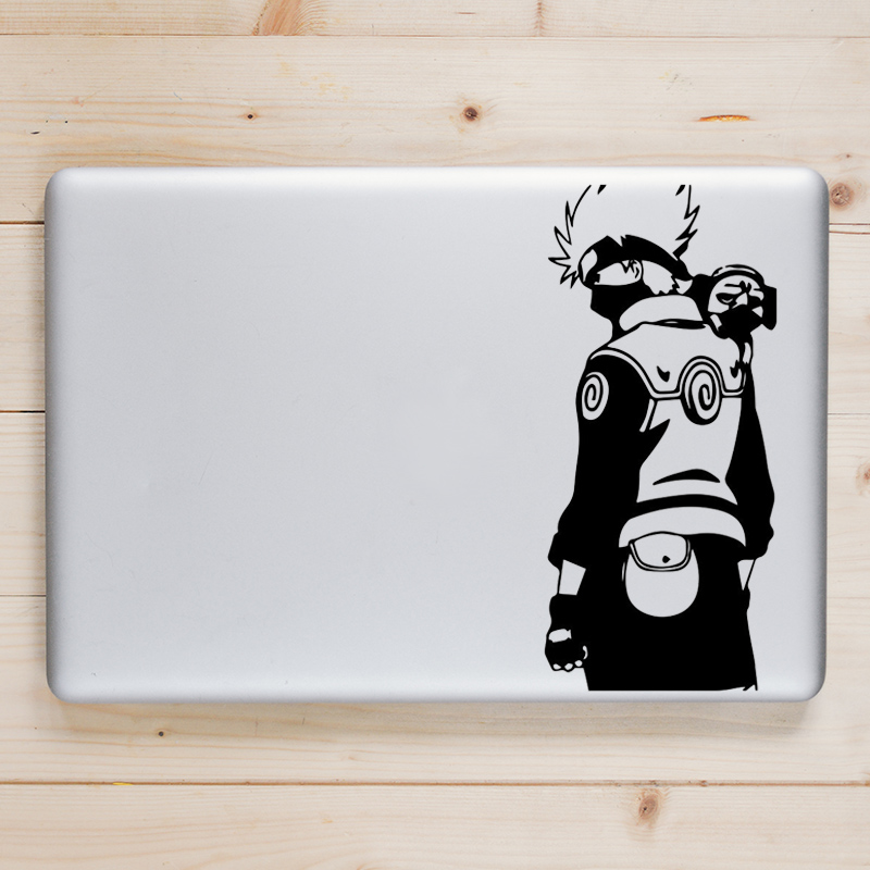 Kakashi with Dog Laptop Decal for font b Apple b font font b Macbook b font