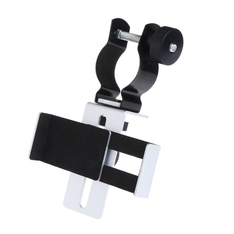 24-38mm Microscope Telescopes Universal Photography Bracket Mount Phone Adapter universal cell phone holder mount bracket adapter clip for camera tripod telescope adapter model c
