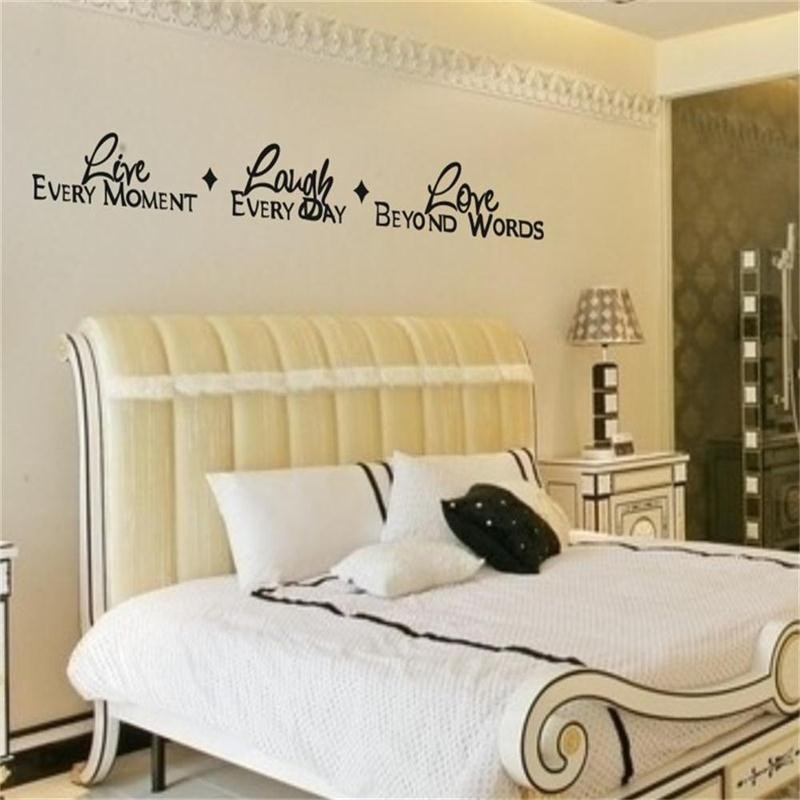 Aliexpress.com : Buy % live laugh love quotes wall stickers Home ...