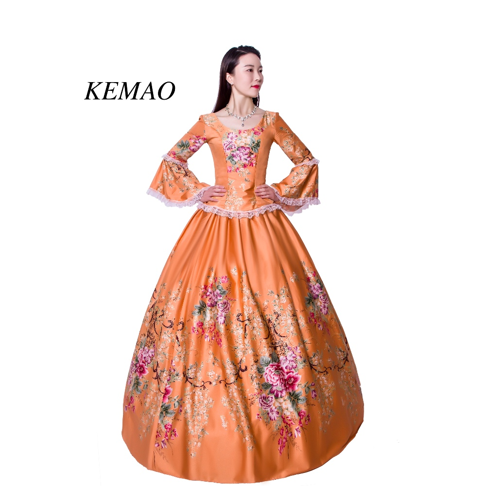 5ccecf2a9bc2 Women's Dress Outfits Party Costume High-end Court Rococo Baroque Marie  Antoinette Ball Dresses 18th Century Renaissance