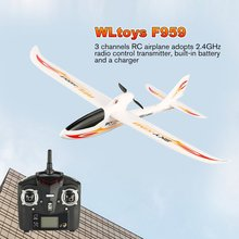 цена WLtoys F959 2.4G Radio Control 3 Channel RC plane Airplane Fixed Wing RTF SKY-King Aircraft Outdoor Drone Remote Control Toy онлайн в 2017 году