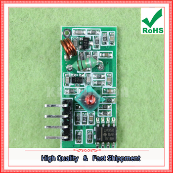 433M Receiving Module 433MHZ Frequency Wireless Receiver Module Super Regeneration board 433 mhz (D2A5) image