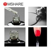 MSHARE Base Coat Wipes Top Coat Primer Reinforcement Gel Manicure Soak Off Nail Polish Set Lacquer Base Top Resin Material MS9