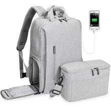 лучшая цена CADeN dslr camera bag waterproof backpack shoulder Laptop digital camera & lens photograph luggage bags case for Canon Nikon