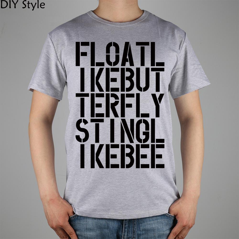 Float Like a Butterfly T Shirt ALI boxe