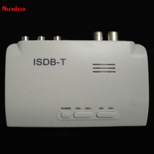 Nsendato Digital terrestrial ISDB-T ISDBT Set Top TV Box Converter Mini HDMI ISDB T TV Tuner Adapter for TV E Monitor CRT/LCD