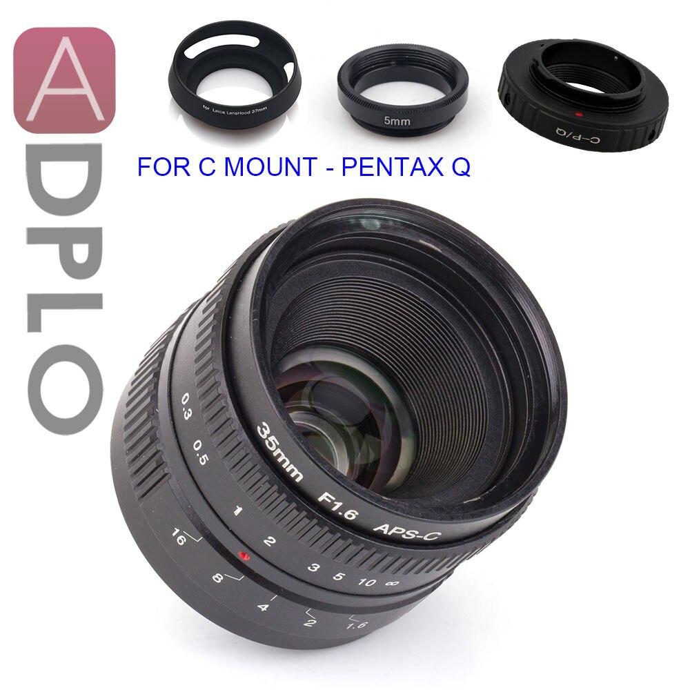 ADPLO APS C 35mm f 1 6 Lens 3gift Suit for Nikon 1 M4 3 micro