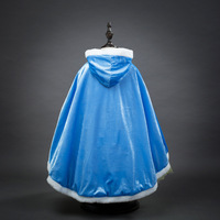 2017 New Arrival Girls Fall Clothing Promotion High Quality Girls Princess Anna Elsa Cosplay Costume Kids