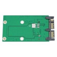 """Мини PCIe PCI-e MSATA 3x5 см SSD до 1,"""" Micro SATA USATA адаптер конвертер карты"""