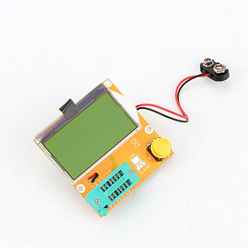 LCR-T3 Graphical Multi-function Tester Mega328 Transistor Tester Diode Triode Capacitance ESR Meter MOS/PNP/NPN L/C/R 12864 LCD multifunctional lcd backlight diode inductance capacitance resistance esr meter transistor tester for mos pnp npn l c r testing